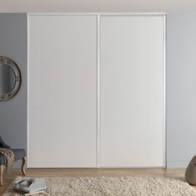 Beautiful Porte De Placard Coulissante Blanche Form Valla 92,2 X 245,6 Cm | Castorama.