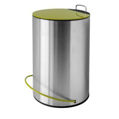 Poubelle métal vert COOKE & LEWIS Brandons 3L