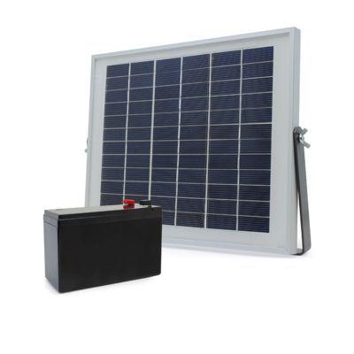 kit d 39 alimentation solaire pour motorisation portail blyss castorama. Black Bedroom Furniture Sets. Home Design Ideas