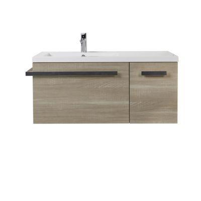 meuble sous vasque version gauche cooke lewis belice 105 cm castorama. Black Bedroom Furniture Sets. Home Design Ideas