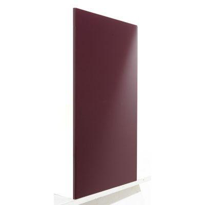 2 côtés sous vasque aubergine COOKE & LEWIS Meltem 43,5 x 60 cm