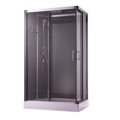 cabine de douche ouverture droite taupe cooke lewis dive easy 120 x 80 cm castorama. Black Bedroom Furniture Sets. Home Design Ideas