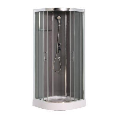 cabine de douche taupe cooke lewis dive easy 90 x 90 cm. Black Bedroom Furniture Sets. Home Design Ideas