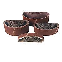 3 bandes / 3 disques abrasifs pour combiné Mac Allister - Grain 80/120/180