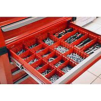 Organiseur métallique pour tiroir de servante