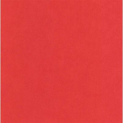 Papier peint expansé sur intissé COLOURS City uni rouge