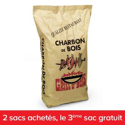 Charbon De Bois 2 Sacs Achetes 1 Sac Offert Castorama