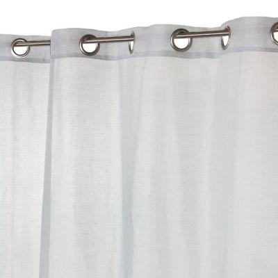 Voilage COLOURS Baba gris perlé 140 x 240 cm