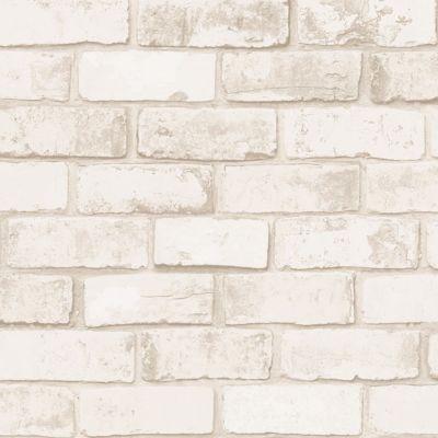 Papier peint vinyle sur intissé COLOURS Arcelot brique naturel