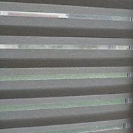 Store enrouleur tamisant Colours Elin ligné blanc 180 x 210 cm