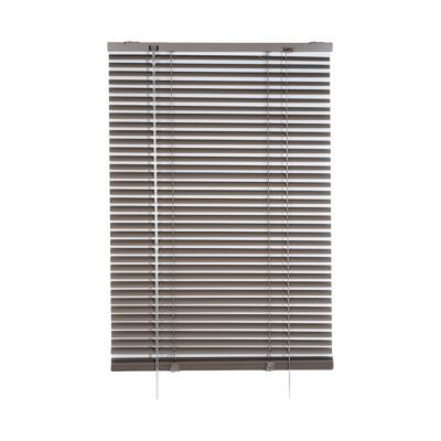Store vénitien aluminium taupe 120 x 180 cm