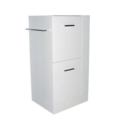 Caisson meuble sous vasque droit blanc COOKE & LEWIS Waneta 43 cm