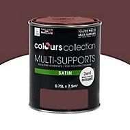 Peinture multi-supports Bordeau Satin 0,75L