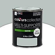 Peinture multi-supports Gris clair Satin 0,75L