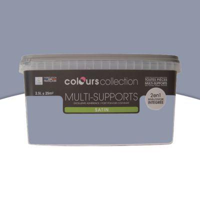 Peinture Multi Supports Gris Mauve Satin 2 5l Castorama