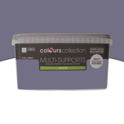 Peinture Multi Supports Iris Satin 25l Castorama