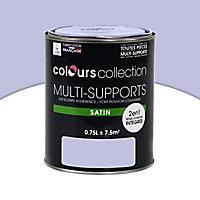 Peinture multi-supports Lilas Satin 0,75L