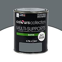 Peinture multi-supports Macadam Satin 0,75L