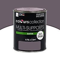 Peinture multi-supports Prune Satin 0,75L