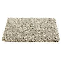 Tapis de bain antidérapant beige 50 x 80 cm Brenton