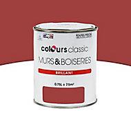 Peinture Murs et boiseries Classic red Brillant 0,75L