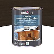 Lasure bois Colours Wenge 1L garantie 12 ans