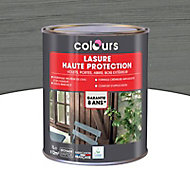 Lasure bois Colours Cendre 1L garantie 8 ans