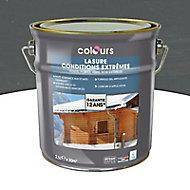 Lasure bois Colours Gris 2,5L garantie 12 ans