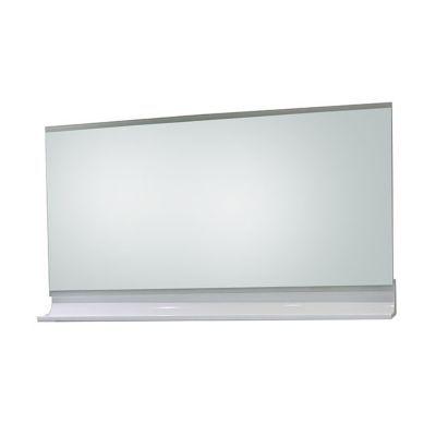 Miroir éclairant blanc brillant 120 cm Nile