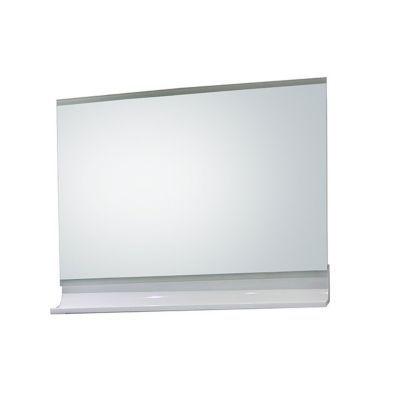 Miroir éclairant blanc brillant 90 cm Nile