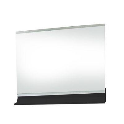 Miroir éclairant noir brillant 90 cm Nile