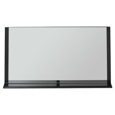 Miroir éclairant noir brillant 120 cm Nile