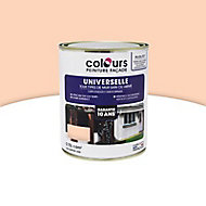 Peinture façade universelle Colours beige rosé 0,75L