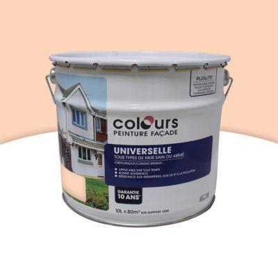 peinture fa ade universelle colours pliolite beige ros. Black Bedroom Furniture Sets. Home Design Ideas