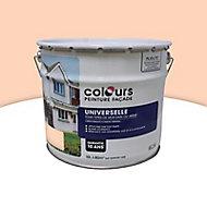 Peinture façade universelle Colours Pliolite beige rosé 10L