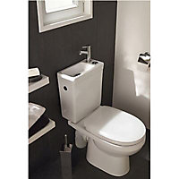 Pack WC Duetto 2 Cooke & Lewis 3/6L