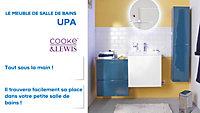 Colonne de salle de bains bleu brillant Upa 30 cm