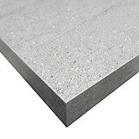 Plan de travail ilôt aspect pierre claire Luna 100 x 184 cm ép.38 mm (vendu à la pièce)