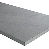 Plan de travail stratifié aspect pierre claire Luna 208 x 65 cm ép.38 mm (vendu à la pièce)