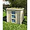 Abri de jardin bois Blooma Lulea, 3 m² ép.19 mm