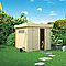 Abri de jardin bois Blooma Rauma 2, 5,1 m² ép.19 mm