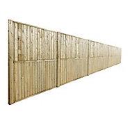 Lisse haute bois pour panneau anti-bruit Oza