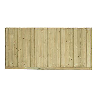 Panneau bois anti-bruit Oza 180 x h.90 cm   Castorama
