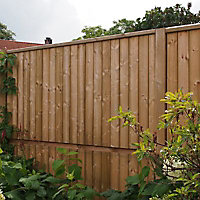 Panneau bois anti-bruit Oza 180 x h.90 cm