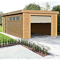 Garage bois Blooma Nacka 19,17 m²