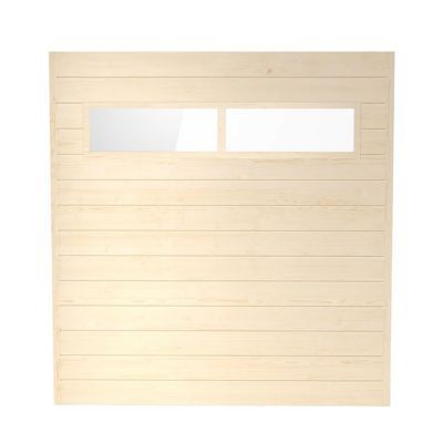 Paroi pleine avec fenêtre pour abri de jardin bois BLOOMA Solna, option 2