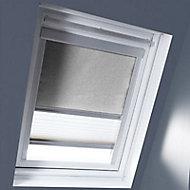 Store duo fenêtre de toit Geom MK04 gris clair
