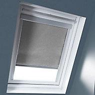 Store duo fenêtre de toit Geom CK02 gris clair