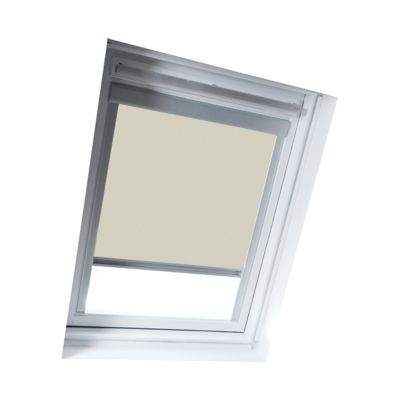 Store occultant fenêtre de toit GEOM MK08 beige