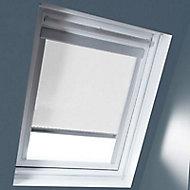 Store occultant fenêtre de toit Geom M06/M08 blanc